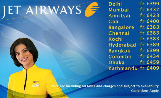 Jet Airways Specials